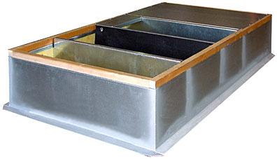 Prefabricated Insulated Roof Curbs Roof Curbs Thybar