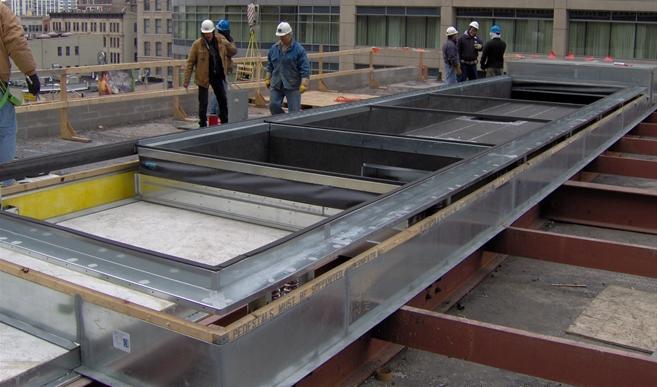 Plenum Curb Roof Curbs Thybar
